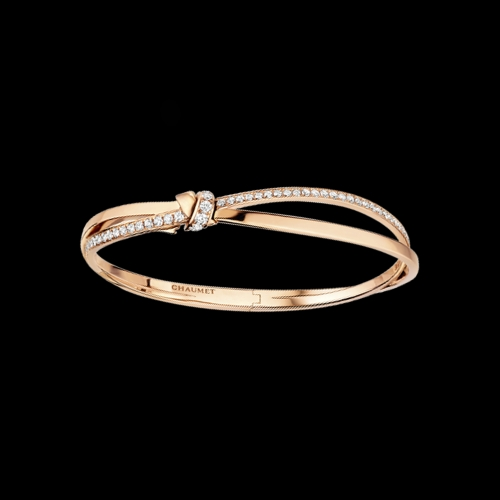 CHAUMET - BRACCIALE LIENS SÉDUCTION IN ORO ROSA E DIAMANTI - 083229