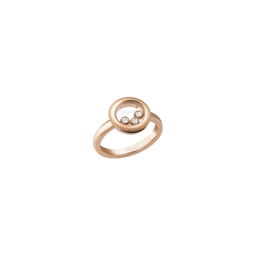 CHOPARD - HAPPY DIAMONDS ICONS - ANELLO IN ORO ROSA CON DIAMANTI - 82A018-5110