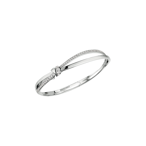 CHAUMET - BRACCIALE LIENS SÉDUCTION IN ORO BIANCO E DIAMANTI - 083228
