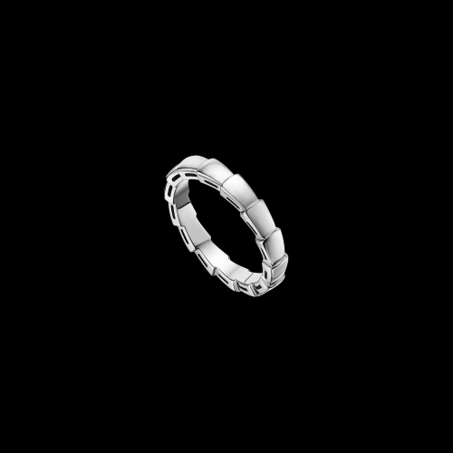 Fede nuziale Serpenti in oro bianco 18 carati - AN856869