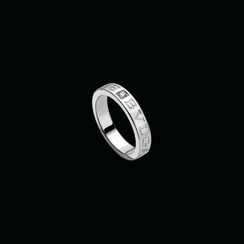 Anello BVLGARI BVLGARI in oro bianco 18 carati con diamante - AN853348