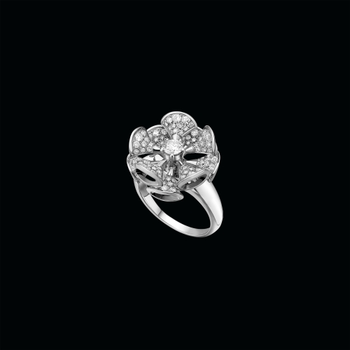 Anello DIVAS' DREAM in oro bianco 18 carati con diamanti - AN857079