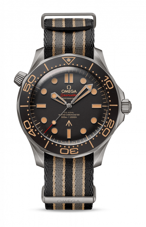 SEAMASTER DIVER 300M OMEGA CO-AXIAL MASTER CHRONOMETER 42 MM 007 EDITION - 210.92.42.20.01.001