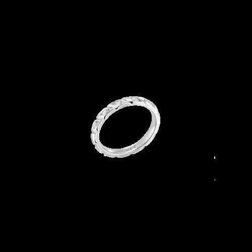 CHAUMET - FEDE NUZIALE TORSADE  DE CHAUMET IN PLATINO E DIAMANTI - 082724