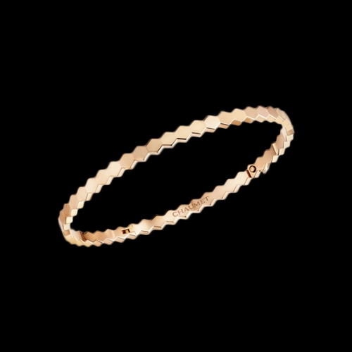 CHAUMET - BRACCIALE BEE MY LOVE RIGIDO IN ORO ROSA - 083432