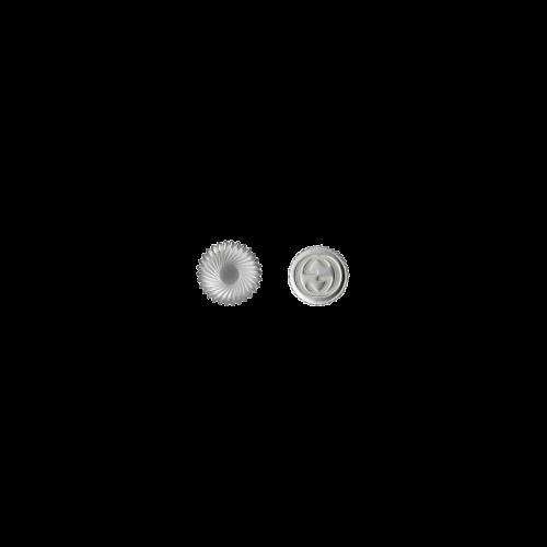 ORECCHINI ASIMMETRICI GUCCI BOULE IN ARGENTO CON LOGO GG - YBD62854600100U