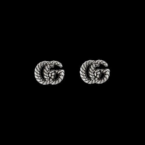 ORECCHINI GG MARMONT IN ARGENTO - YBD62775500100U