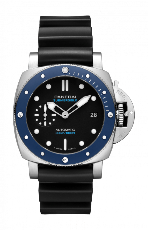 SUBMERSIBLE AZZURRO - 42 MM - PAM01209