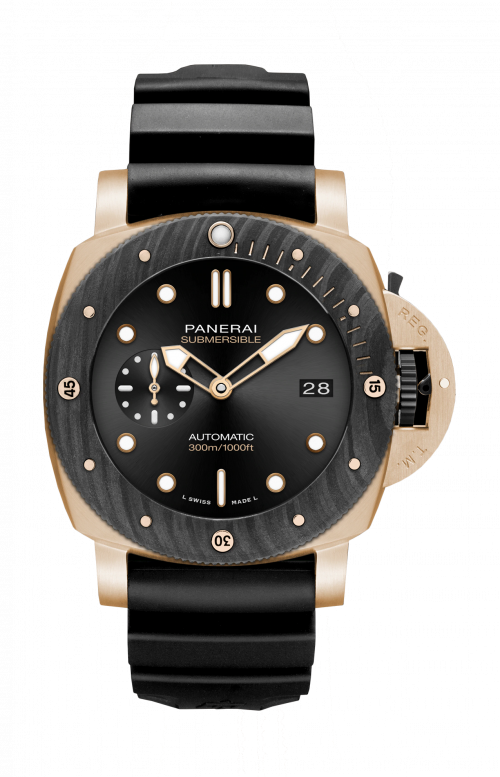 SUBMERSIBLE GOLDTECH™ OROCARBO - 44 MM - PAM01070