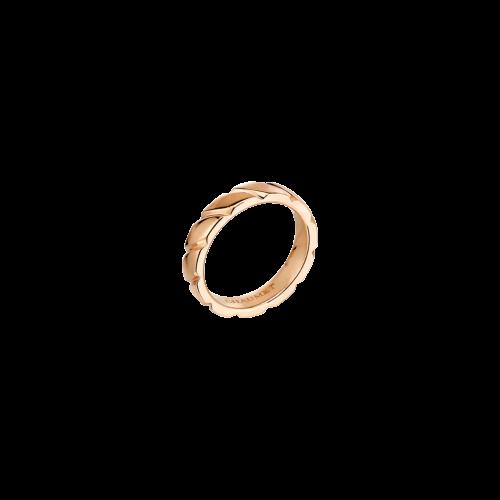 CHAUMET - FEDE NUZIALE TORSADE DE CHAUMET IN ORO ROSA - 082501
