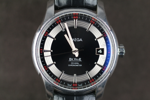OMEGA DE VILLE HOUR VISION CO-AXIAL CHRONOMETER - U-431.33.41.21.01.001