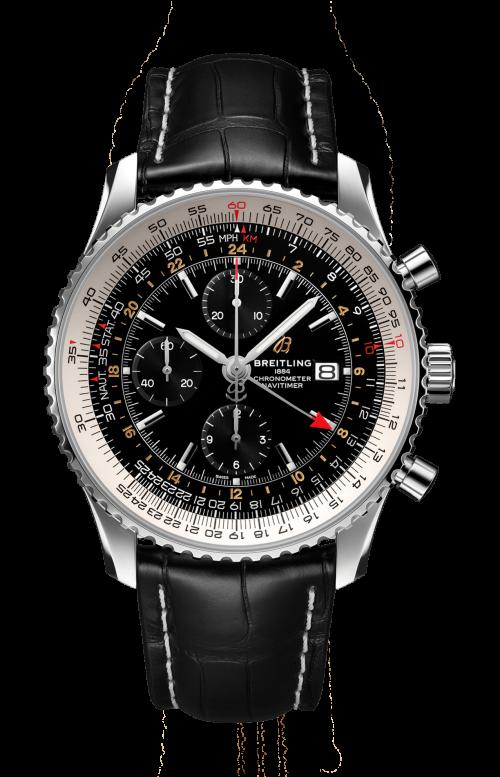 NAVITIMER CHRONOGRAPH GMT 46 - A24322121B2P1