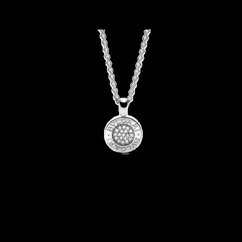 Collana Bulgari Bulgari in oro bianco e diamanti - CL188202