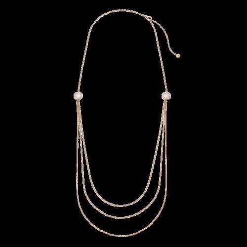 Collana BVLGARI BVLGARI in oro rosa 18 carati con onice e madreperla - CL857183