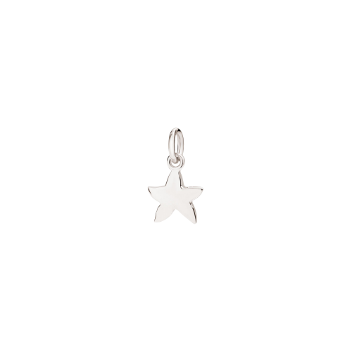 DODO MINI DODO - STELLINA  - CIONDOLO STELLINA IN ORO BIANCO 18 KT - D3STPOB