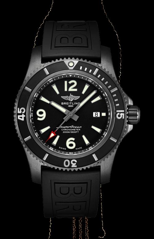 SUPEROCEAN AUTOMATIC 46 BLACK STEEL - M17368B71B1S2