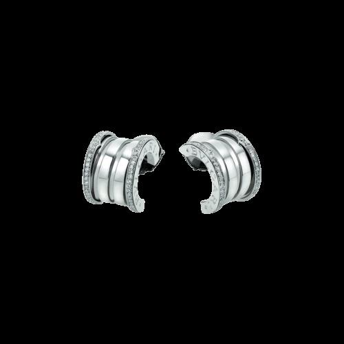Orecchini B.zero1 in oro bianco e diamanti - OR857975
