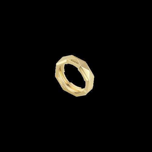 ANELLO GUCCI LINK TO LOVE IN ORO GIALLO - YBC662184001