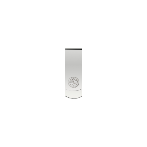 Fermasoldi Gucci Interlocking in argento - YBF49906200100U