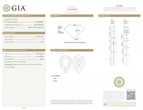 CHAUMET - SOLITARIO JOSÉPHINE AIGRETTE IN PLATINO E DIAMANTI - J3OU00