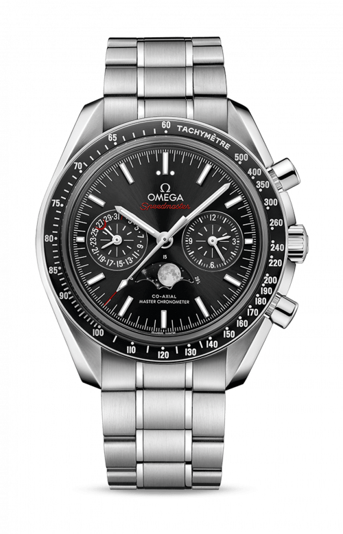 MOONWATCH OMEGA CO-AXIAL MASTER CHRONOMETER MOONPHASE CHRONOGRAPH - 304.30.44.52.01.001