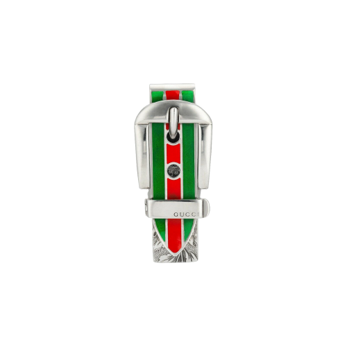 FERMASOLDI GUCCI GARDEN IN ARGENTO E SMALTI - YBF52485000100U