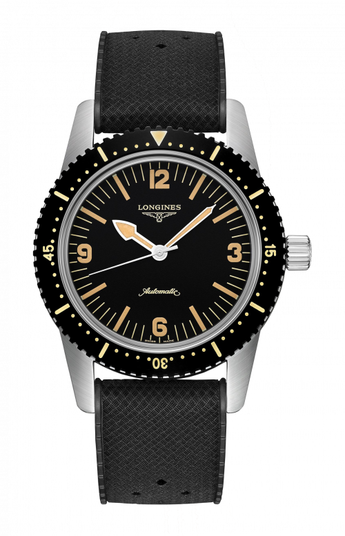 THE LONGINES SKIN DIVER WATCH - L2.822.4.56.9